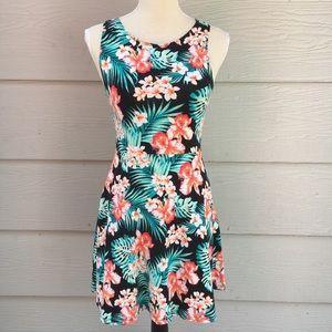 PINK Victoria Secret Hawaiian Floral Print Dress